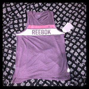 Reebok Plum colored Athletic tank size M